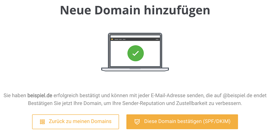 Sender-Domain