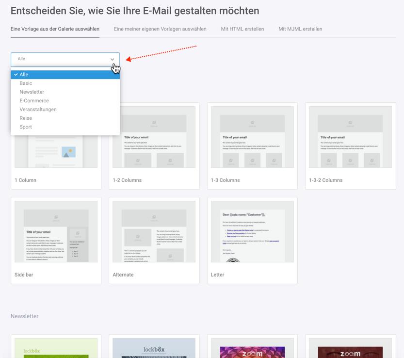b59cfa1a90 Bieten Sie kostenlose Newsletter-Vorlagen an? - Newsletter-Tool ...