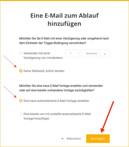 E-Mail-Automatisierung