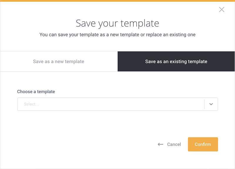 Create Template