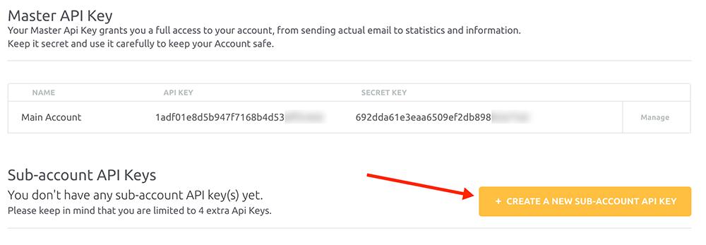 Sub accounts in Azure