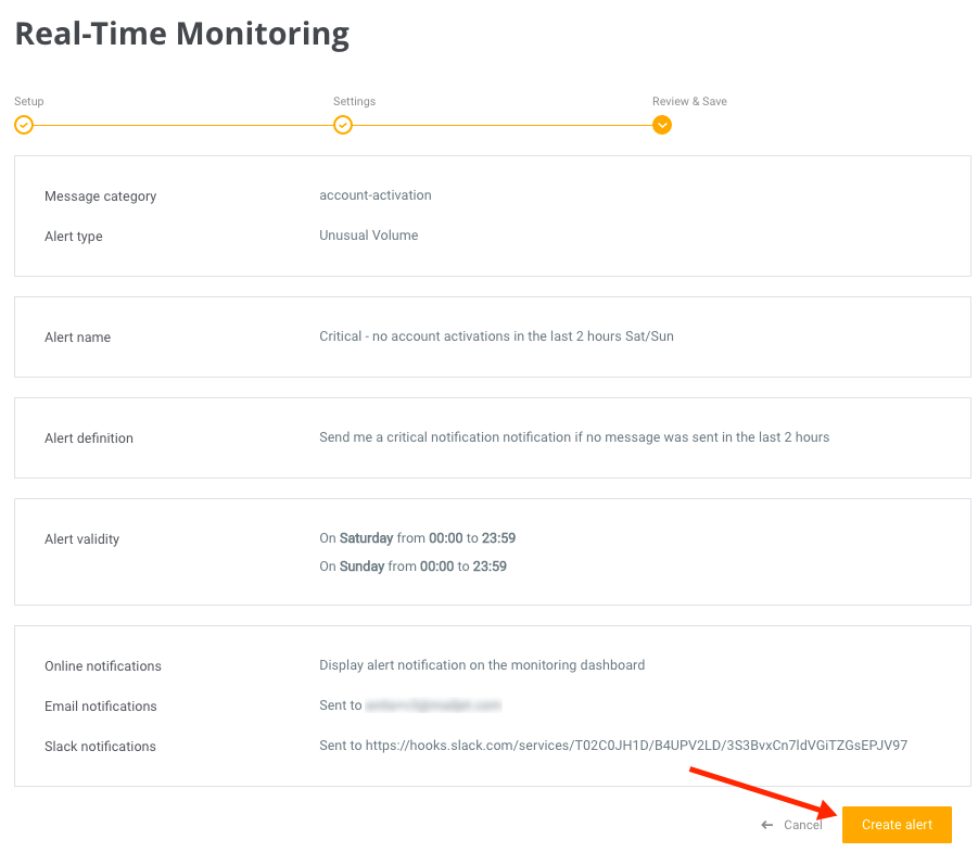 Real-Time Monitoring