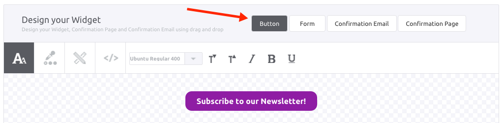 Subscription Widget