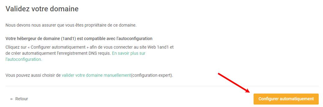 Domaine Automatique