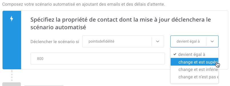 Emails automatisés