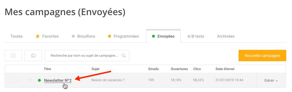 Campaigns Statistics